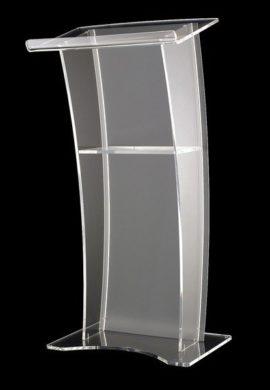 Highie.com - Fabrication Services - Acrylic Rostrum